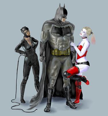 BatMan Harley and Catwoman final