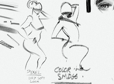 new pencil tests for gesture