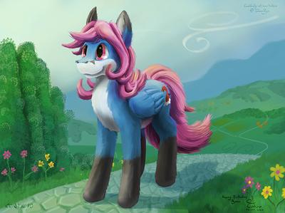 nyaaa_pony__almost_in_ponyville__web_small__by_takiro