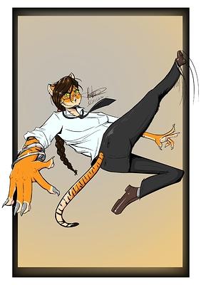 Tigress Kick