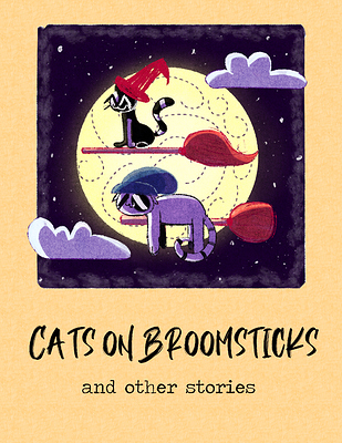 Cats on Broomsticks and other stories cover
