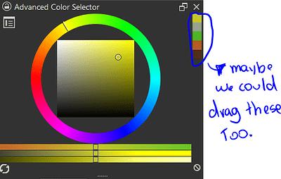 advanced color selector
