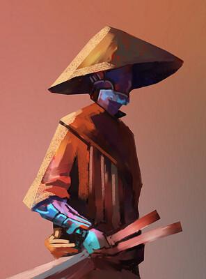 2020-00-30-DEC19-DSP-Bamboo-Hat-Cyborg-Arm