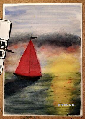Red Sails A3 - klein