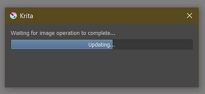 Failed to render animation frames Updating