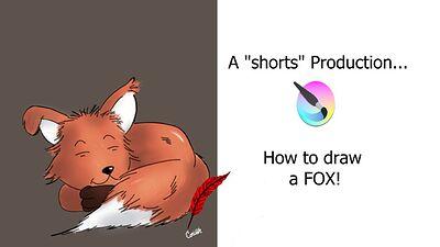 DRAW A FOX short video 2_June 09TH_2021