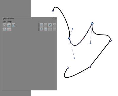 Edit Shapes Tool