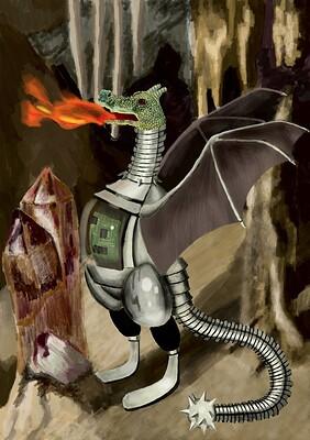 sci-fi-dragon