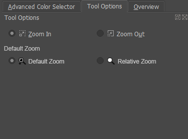 tool option